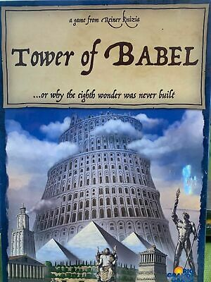 Tower of Babel Board Game - NEW SEALED