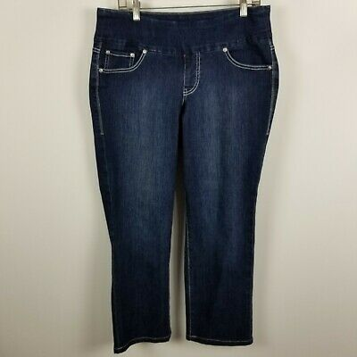 rrp.£24.95 Women/'s Distressed High Rise Slim Skinny Leg Jeans 12 16