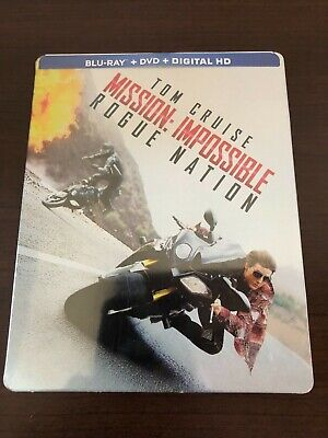 Mission Impossible Rogue Nation [ Limited STEELBOOK Edition ] (Blu-ray Disc) NEW