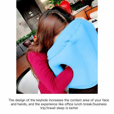 Travel Pillow Inflatable Pillow for Airplain Soft Cushion Trip Office  Pillow