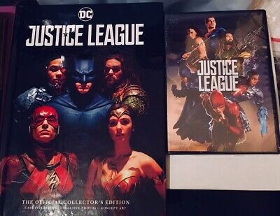 Justice League 2017 film (NEW DVD and Collectors Companion Book)