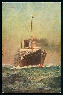 Unused Postcard • c1930s • Eastern & Australasian Mail Steamship Co • SS Nellore