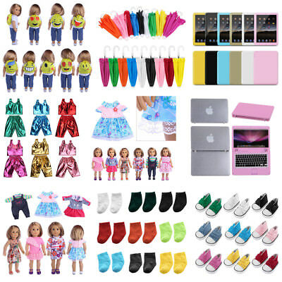 "Doll Clothes Backpack Laptop Umbrella for 18"" American Girl Our Generation Dolls"