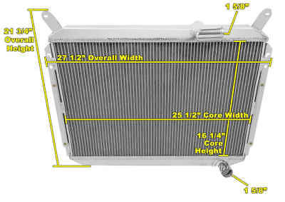 ALUMINUM 2 ROW Core Performance Cooling Radiator for 84-88 Nissan