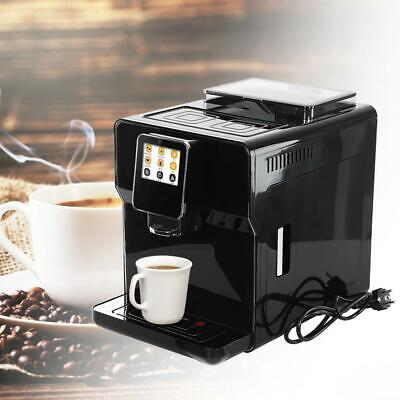 Commercial Automatic Coffee Machine Cappuccino Latte Coffee Maker Steam Frothing