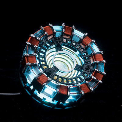 Marvel Avengers Iron Man Arc Reactor Without Display Box Arc Reactor Men Gifts