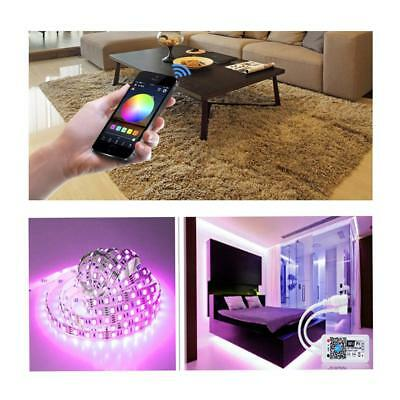 Mini Wifi LED Controller+ IR Remote For 5050/3528 RGB LED Strip Light Phone