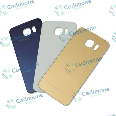 OEM Battery Door Back Glass Cover Housing For Samsung Galaxy S6 / Edge / Plus HU