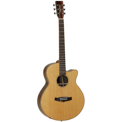 Tanglewood Super Folk Cutaway Electo Acoustic Guitar Java Series TWJSFCE