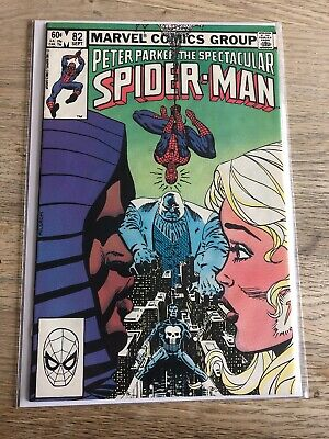 Marvel Comics Peter Parker Spectacular Spider-Man #82 Good Condition
