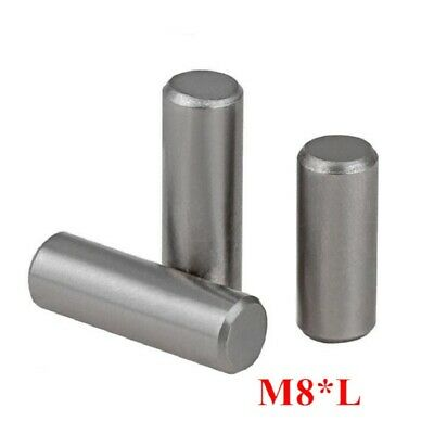 Chrome Steel Cylindrical Locating Pins Rod Solid Pin M8 8mm Dowel Pins Roller