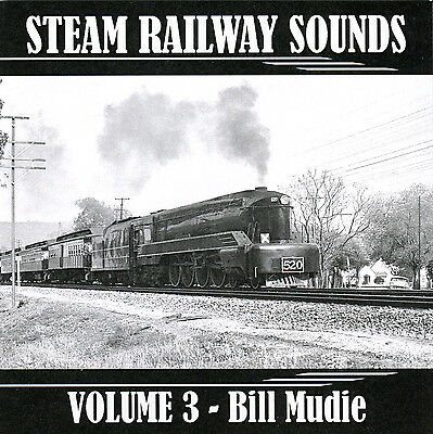 Steam Railway Sound Effects Volume 3 - All 3 gauges in South Australia, audio CD