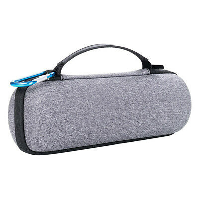 Hard Travel Carry Bag Storage Case Cover Gray For JBL Flip 3/4 Bluetooth Speaker