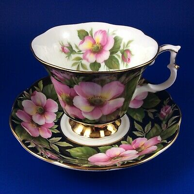 Royal Albert - Provincial Flowers - Alberta Rose - Bone China Tea Cup And Saucer
