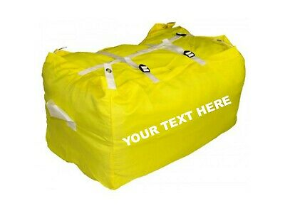 10 x PRINTED YELLOW ULTRA STRONG LAUNDRY HAMPERS COMMERCIAL GRADE SPECIAL OFFER