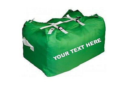 10 x PRINTED GREEN ULTRA STRONG LAUNDRY HAMPERS COMMERCIAL GRADE - SPECIAL OFFER