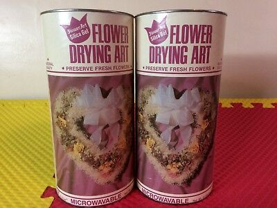2 Pkg Activa 5 Lbs Tubs of Flower Drying Silica Gel Nontoxic Microwavable