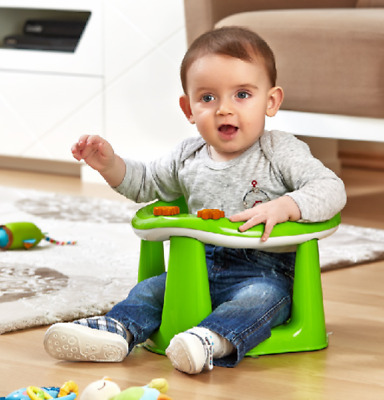 Dunya Green Baby Bath Seat, Play Seat Chair For 6-15 Months Up to 13KG. BPA Free
