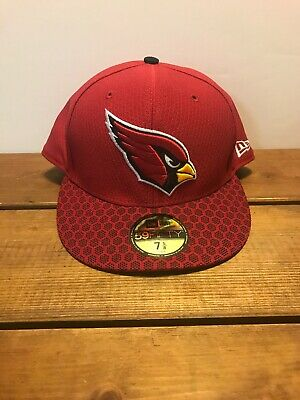 huge discount ef951 6bdf3 Arizona Cardinals New Era 2018 NFL Sideline Official 59FIFTY Fitted Hat