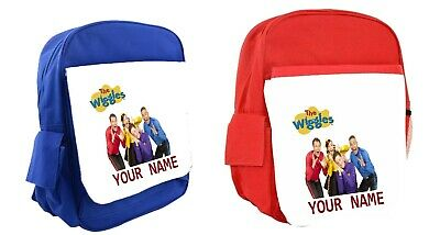 The Wiggles Personalised Kids Backpack