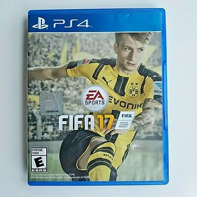 FIFA 17 Sony PlayStation 4 PS4 Videogame Video Game