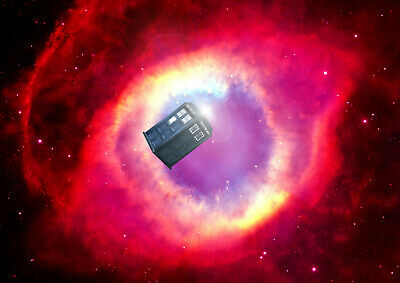 Art Print POSTER / CANVAS Dr Who Space Tardis#18