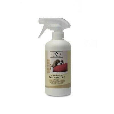 Pulitore smacchiatore spray a base Vegetale adatto a tutti i materiali - 500 ml