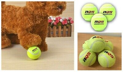 10/20/30/40/50 Tennis Balls Bright Green For Pets Puppy Play Dog Toy High Bounce