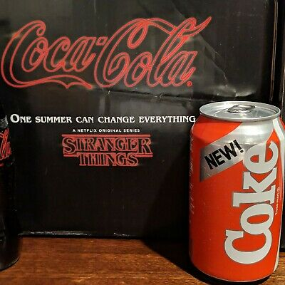 NEW COKE can From StrAnGer Things 1985 Limited Edition Collectors Pack RARE Hot
