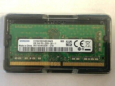 SAMSUNG 8GB DDR4 2666 MHz PC4-21300 Desktop non-ECC DIMM 288