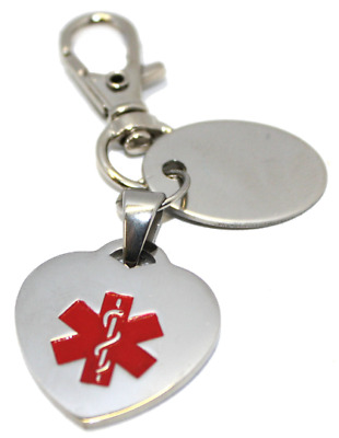 Masonic Personalised Allergic to Penicillin Medical Alert ID SOS KeyRing Z999