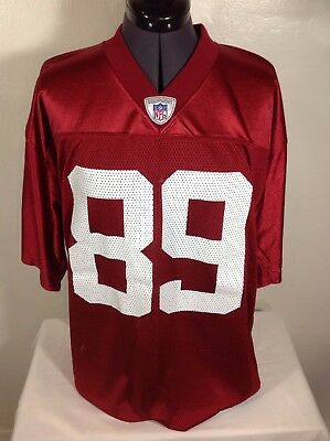 402131d7 DAVID BOSTON ARIZONA Cardinals Jersey Reebok Large Mint Wr Pre Larry ...