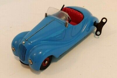 Schuco Akustico 2002 Windup Open Coupe with Horn Mechanism