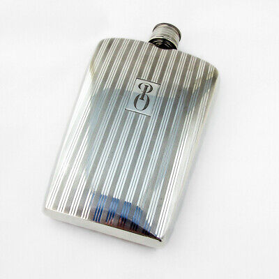 Art Deco Flask Cap Cup Napier Sterling Silver One Pint 1940