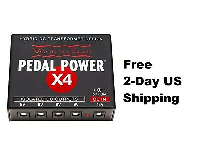 New Voodoo Lab Pedal Power X4 Expander Kit Guitar Pedal Power Supply