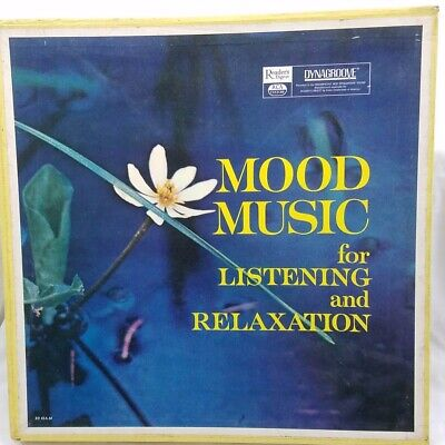Mood Music for Listening & Relaxation Vtg 1963 Readers Digest 11 Record Box Set