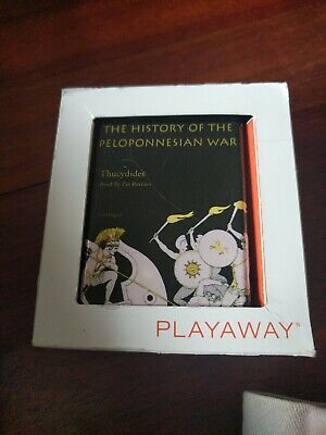 Playaway Audio The History Of The Peloponnesian War Thucydides