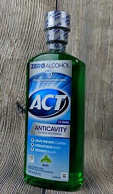 Act Anticavity Alcohol Free Mint 18oz
