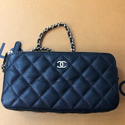a9874026a436 VERIFIED AUTHENTIC RARE Chanel Caviar Leather Wild Stitch Quilted ...