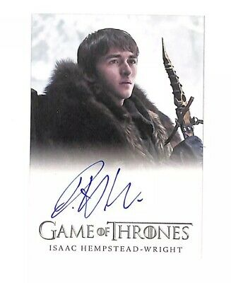 Rittenhouse Game Of Thrones Inflexions Isaac Hempstead-Wright auto card Bran