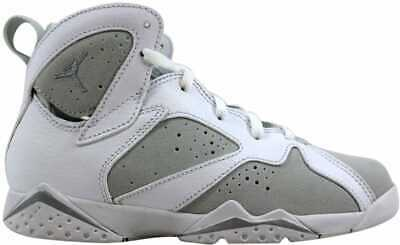 8edb98dda92 NIKE AIR JORDAN VII 7 Retro BP White/Silver Pure Money 304773-120 PS ...