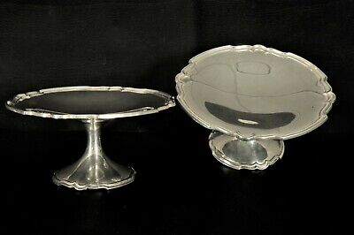 Shreve Sterling Silver Compotes Vintage Antique Approx 659 plus Grams TW Rare