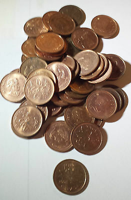 Canada - One Roll Of 2004 - Lot B - 50 Small Cents (50 Coins) - Circulated