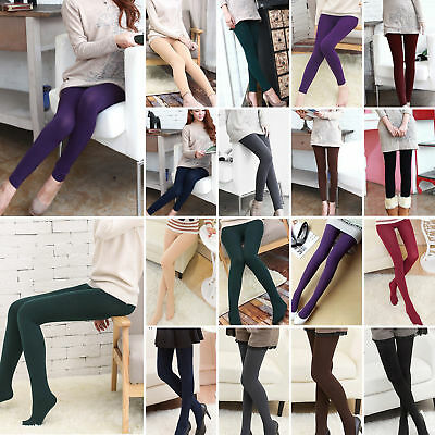 Women Thick Thermal Winter Warm Leggings Skinny Lined Casual Stretch Long Pants