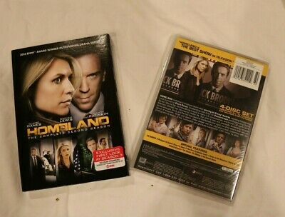 Homeland: The Complete Second Season 2 (Dvd, 2013, 4-Disc Set) New & Sealed