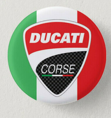 Pin Button Badge Ø38mm  Moto ( motorcycle ) DUCATI #3