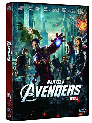2 dvd nuovo AVENGERS+AVENGERS INFINITY WAR della Marvel in versione Italy