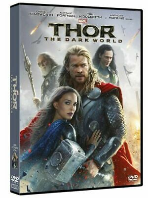 "2 dvd NUOVO THOR ""THE DARK WORLD"" + THOR RAGNAROK - MARVEL IN vers Italiana"