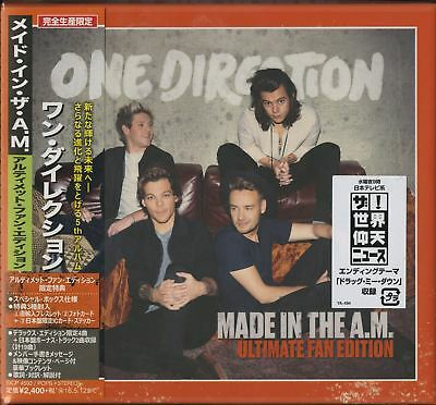 One Direction-Made In The A.m Deluxe Edition-Japan Cd+Book Bonus Track F30