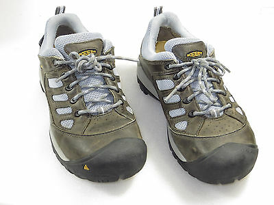 Women's KEEN Flint Low Steel Toe,ocupational,work safety,hike,trail size 7M $150